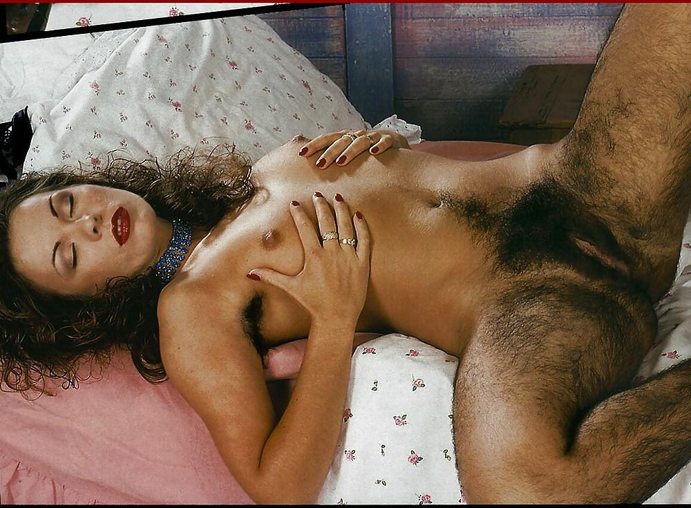 Hairy Lesbian Housemates Love Oral Sex