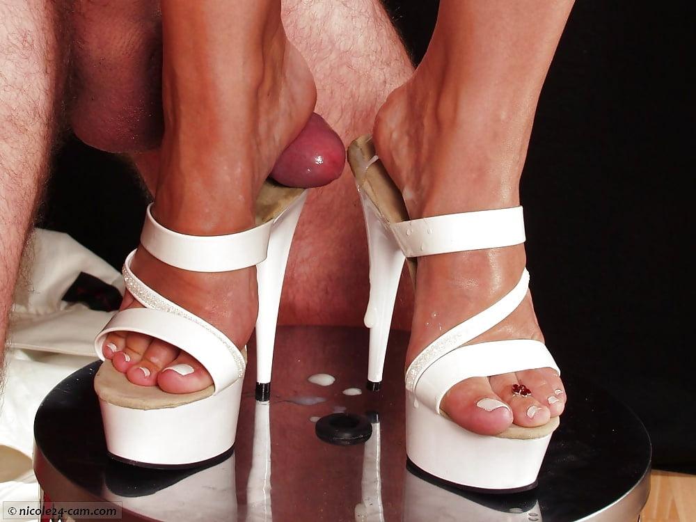 Footjob high heel — pic 5