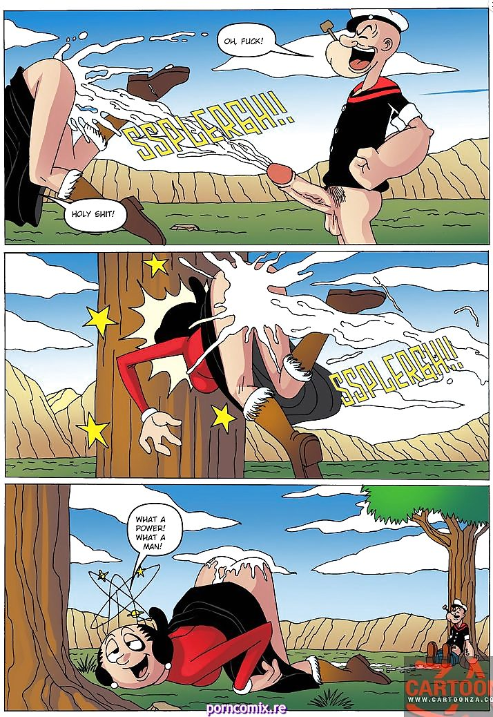 Popeye Cartoon sexe lesbiennes utiliser Sex Toys