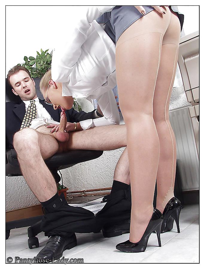 Secretary nylons pics