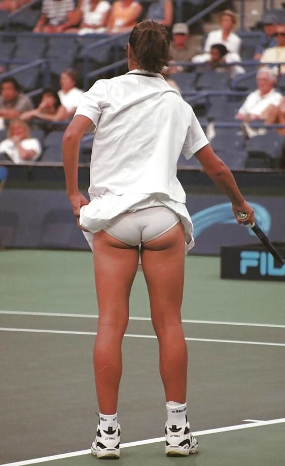 Believe, that classic tennis upskirt