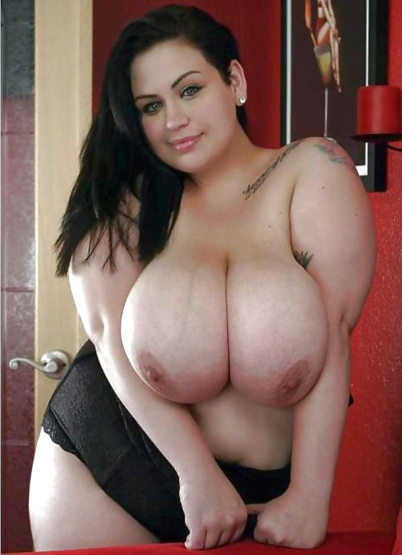 Fat girl with huge tits bikini tryout