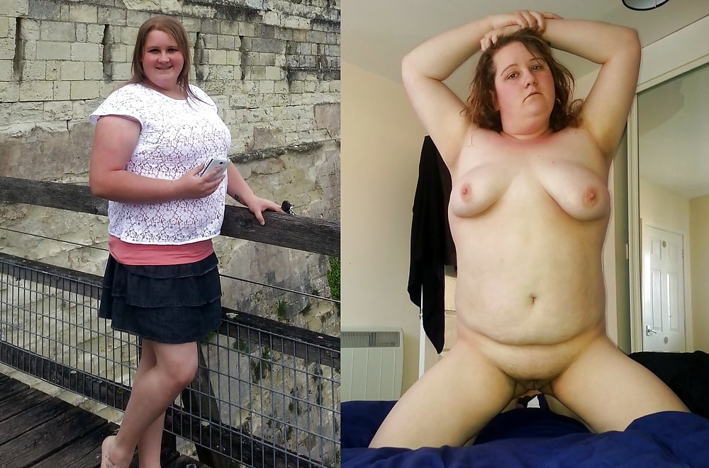 Chubby Teen Dressed Undressed