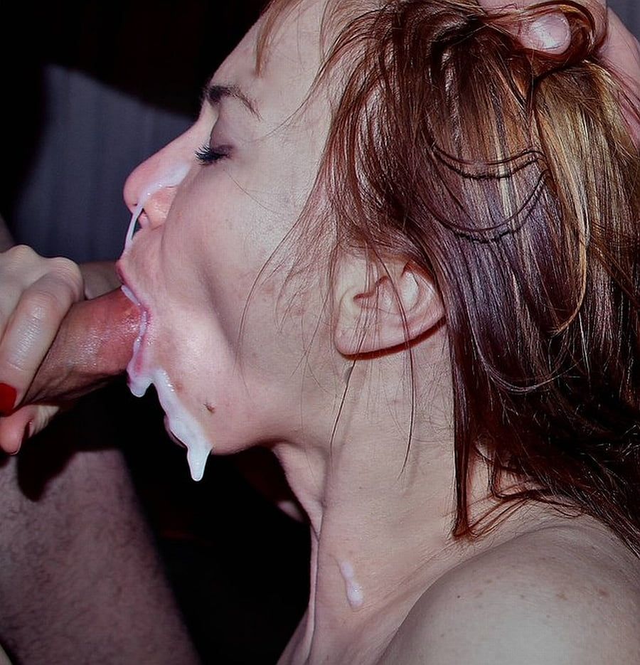 Wife suck swallow — img 8