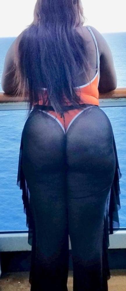 Sheer Pants Thongs