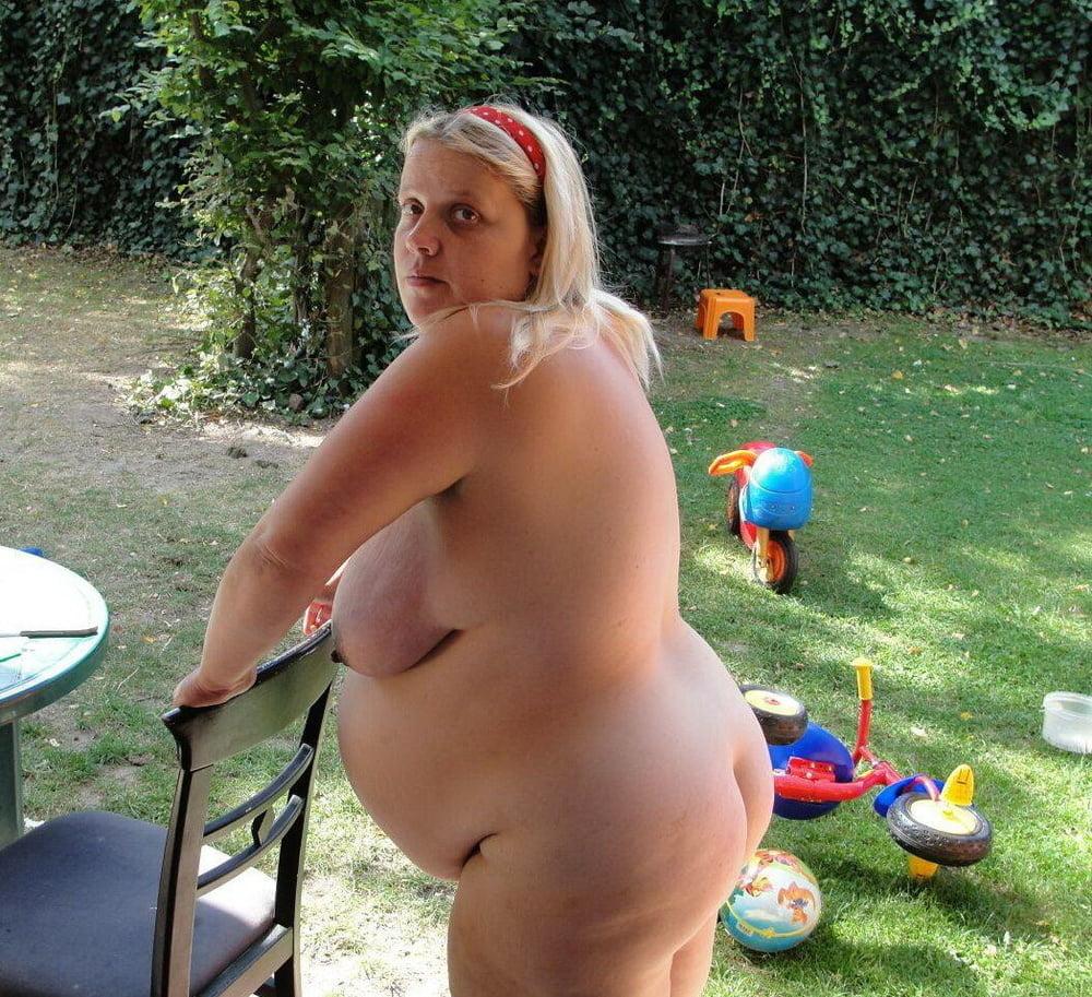 Nude fat seniors