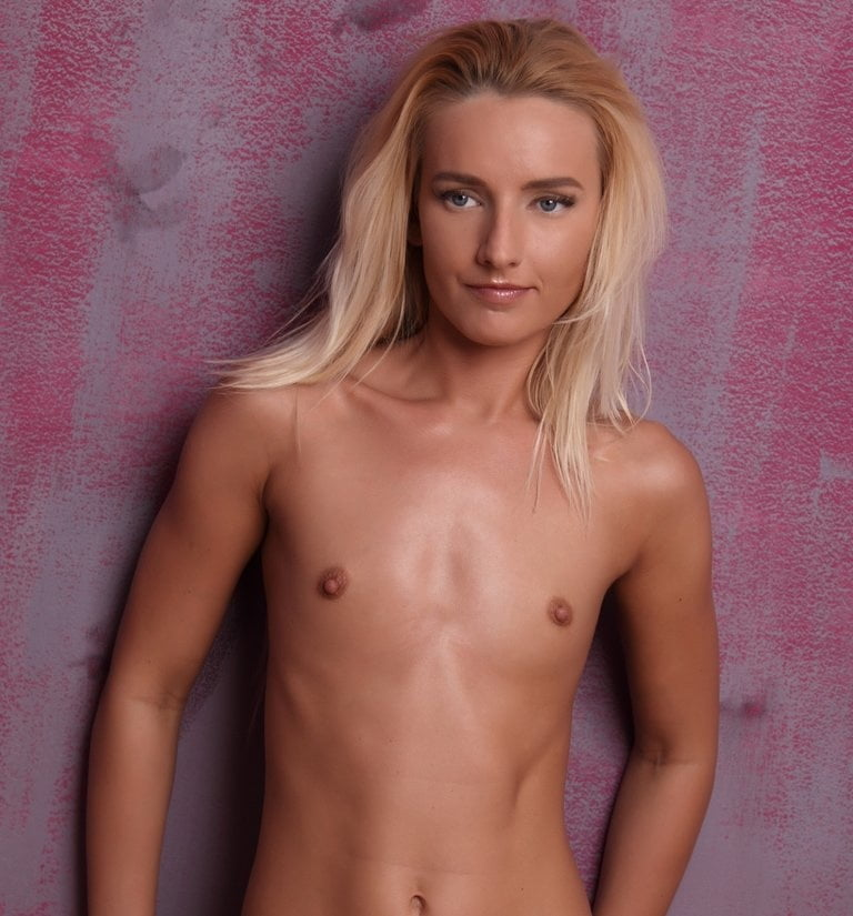 Flat chested girls nude
