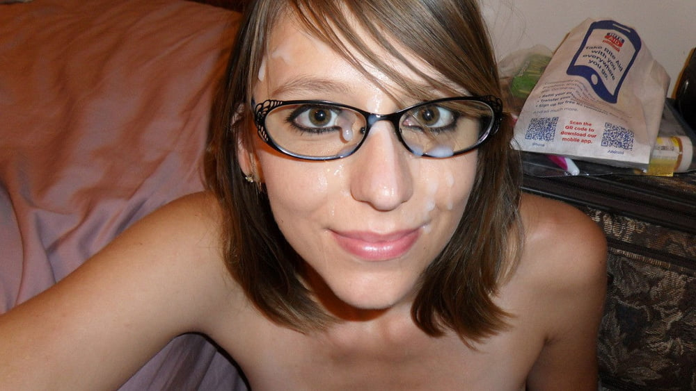 Nude facial glasses girls cum — img 10