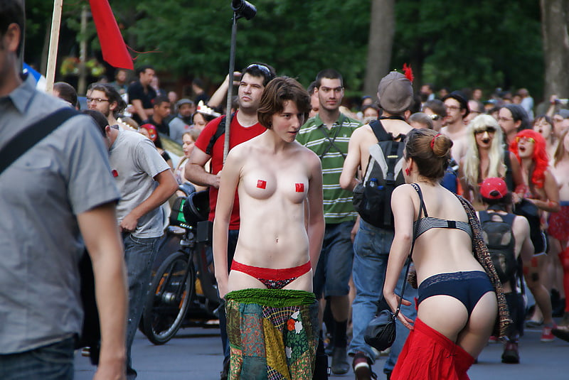 Naked protesters in rochester wear spit hoods to protest daniel prude's death