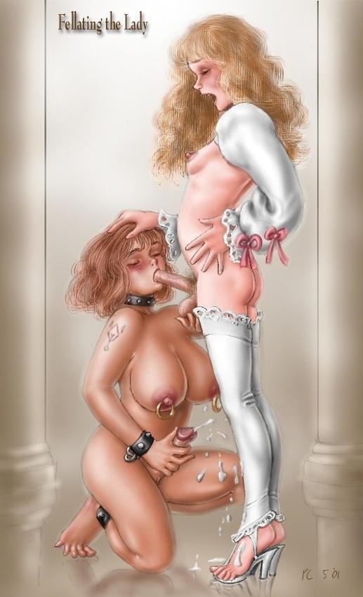 Рисованная эротика транссексуалы 10