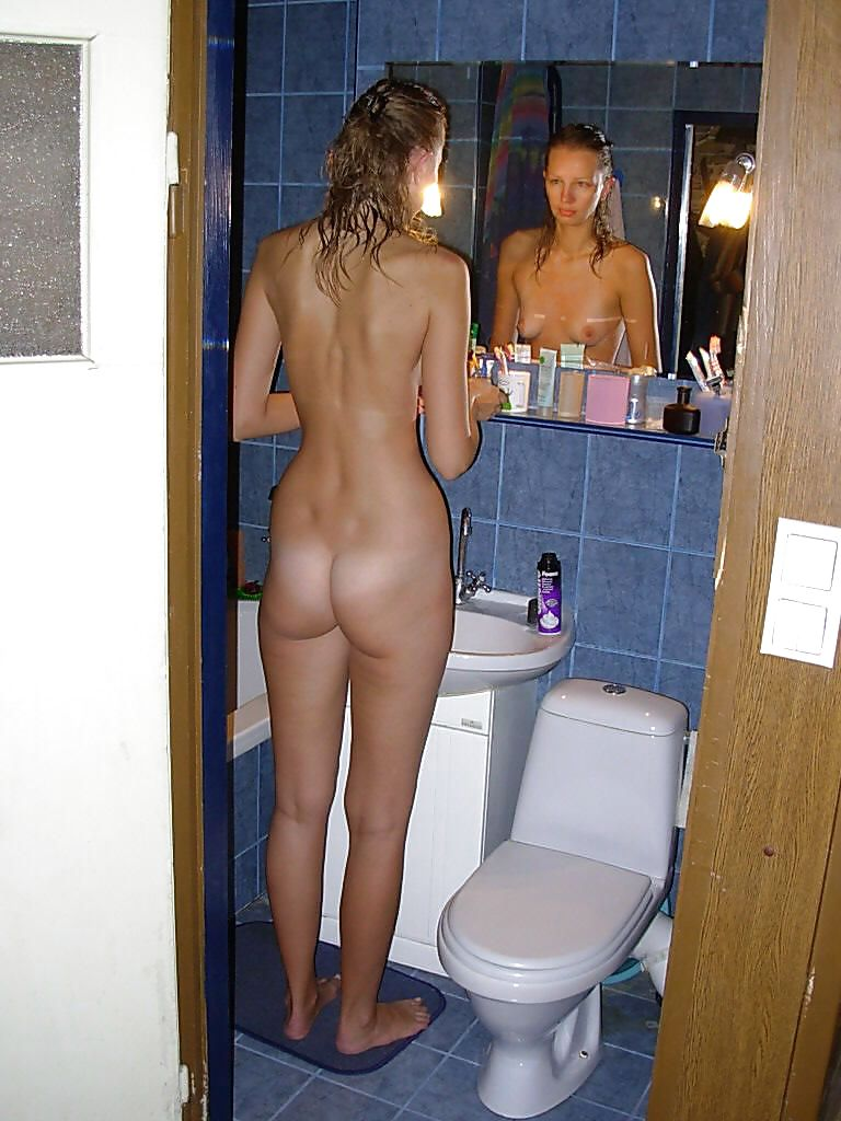 Humiliated embarrassed naked women