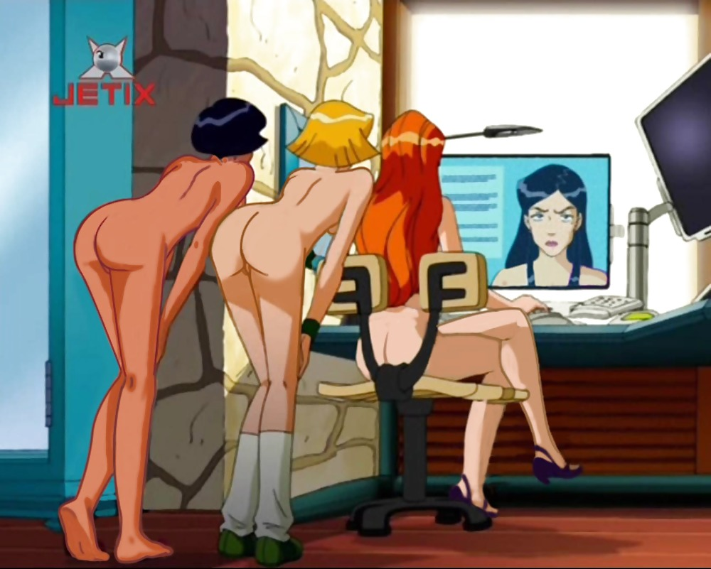 Totally spies clover naked butt