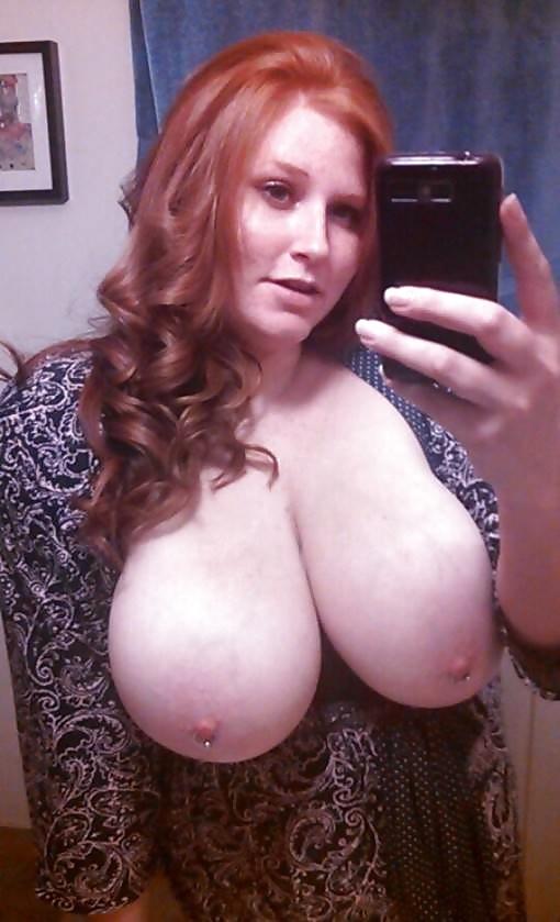 Wife tits selfpic