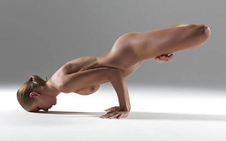 Best Nude Yoga Trainer Gif