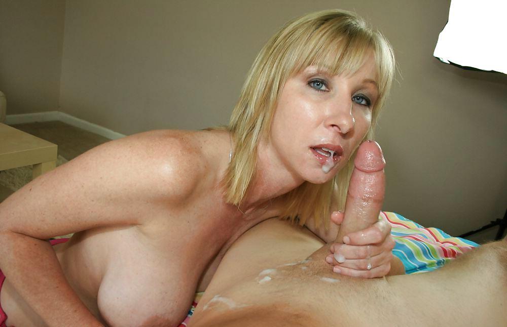 Incest mom suck son cock till he cums hot porn