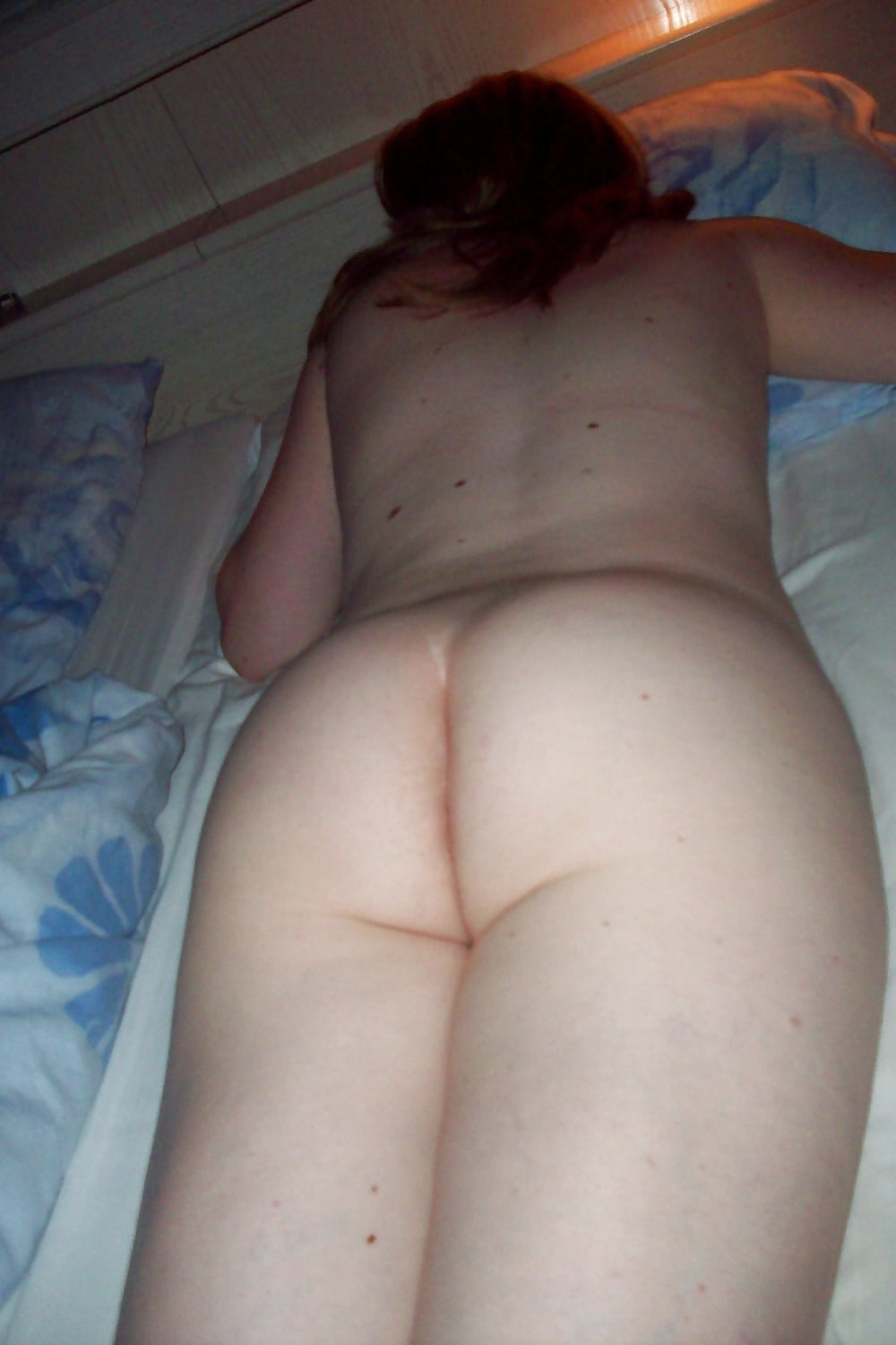 Panty line of the ass