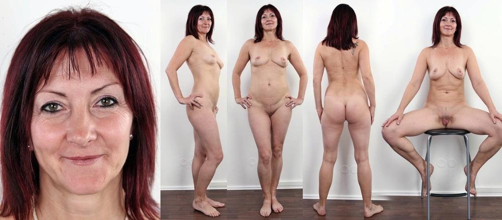 Mature Beauty Beautiful Mature Woman Underwear Stock Photo