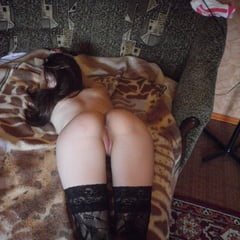 Beauty In Stockings Masturbating In Various Positions