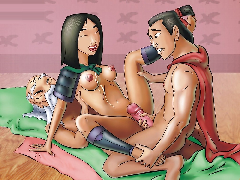 Mulan porn cartoon