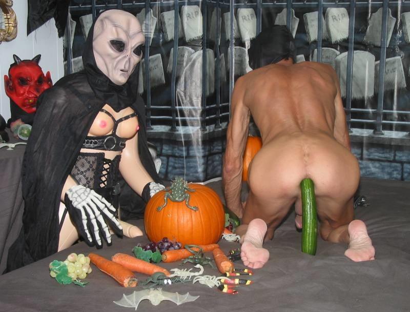 Gay man halloween
