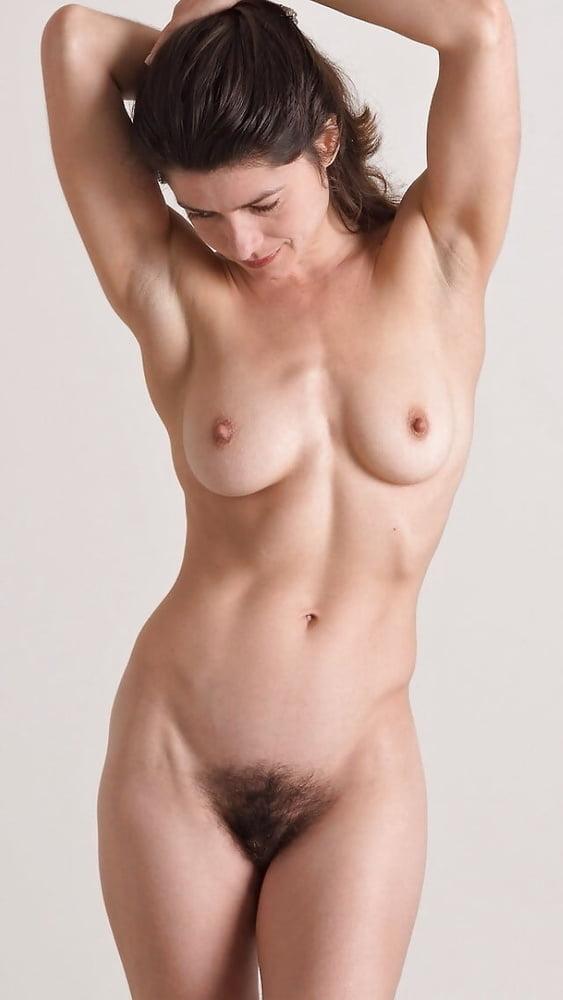 Unshaven female nudes