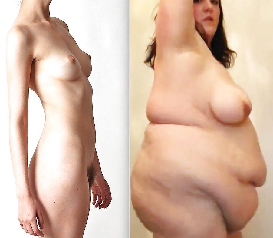 Chubby nude lady