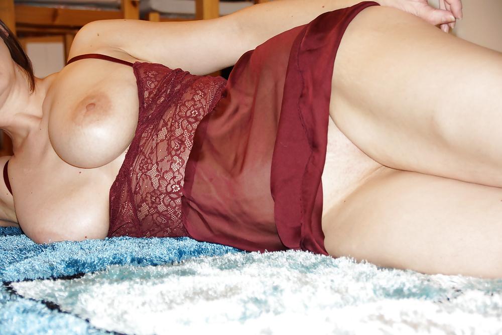 Horny big tits lingerie