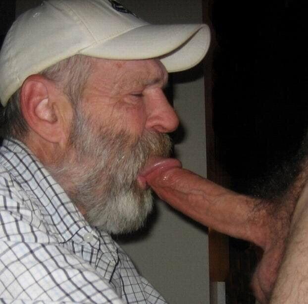 Gay grandpa cock porn pics