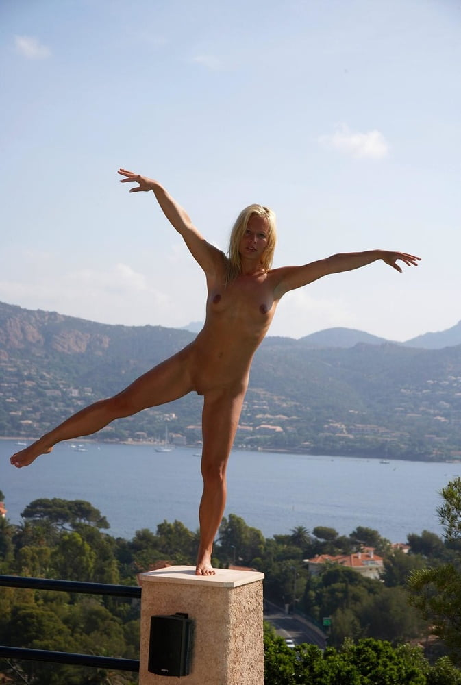 Nude outdoor mature