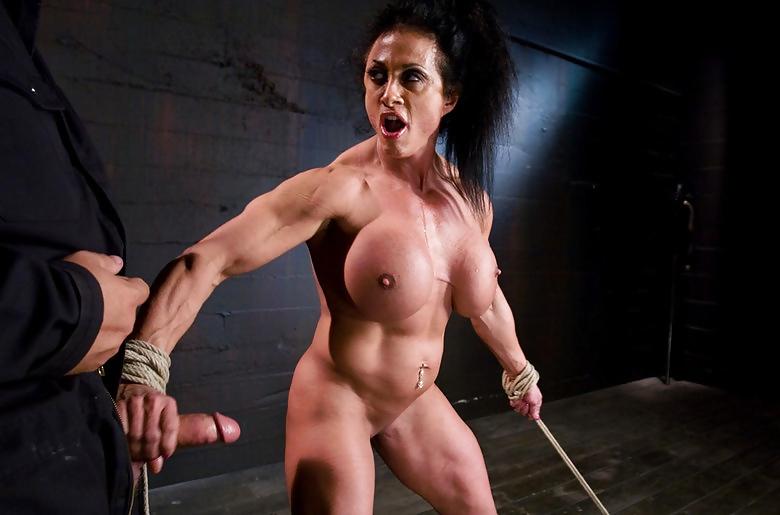Tied muscle bodybuilder women free pics