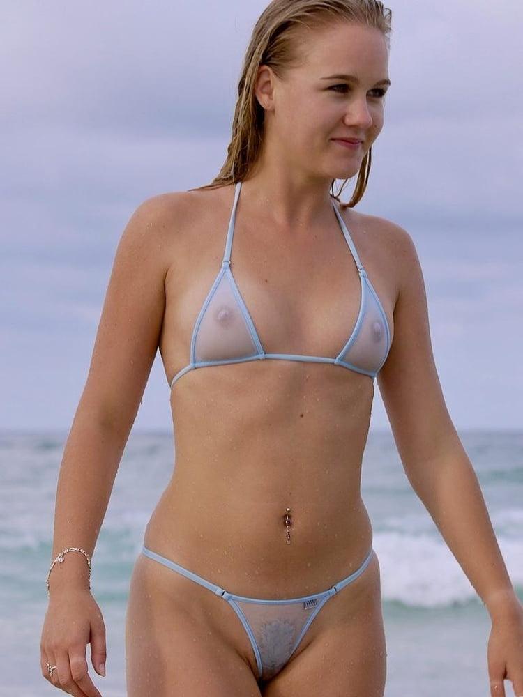 Durchsichtig Bikini