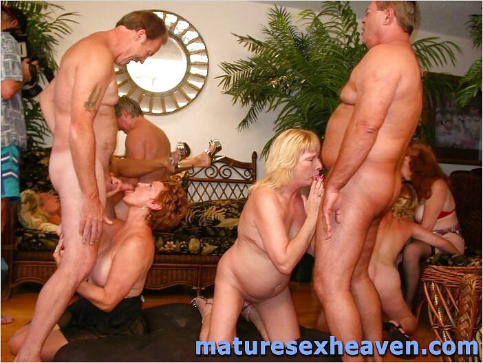 Real mature orgies