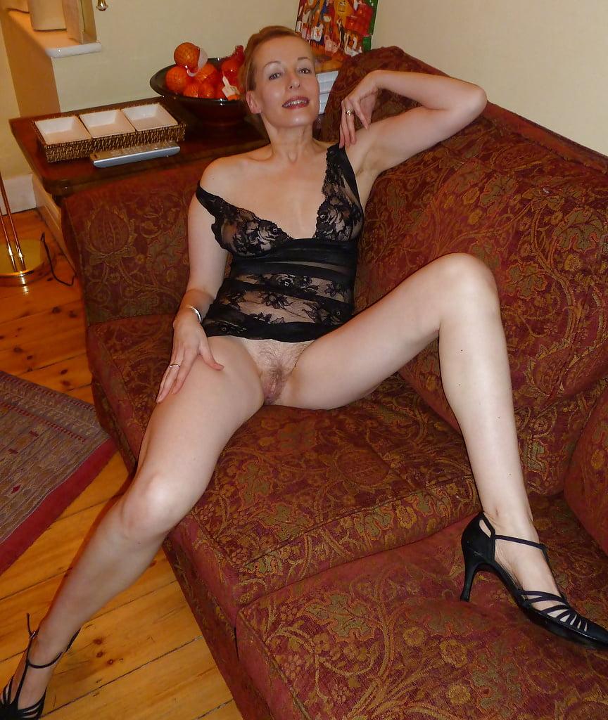 Thin nude mature