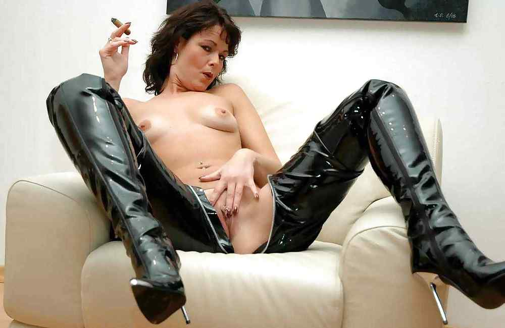 Sexy boots mature ladies pin