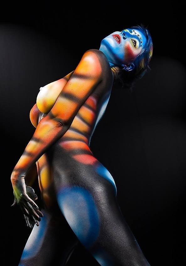 Suzie body painting photograph by robyn thompson