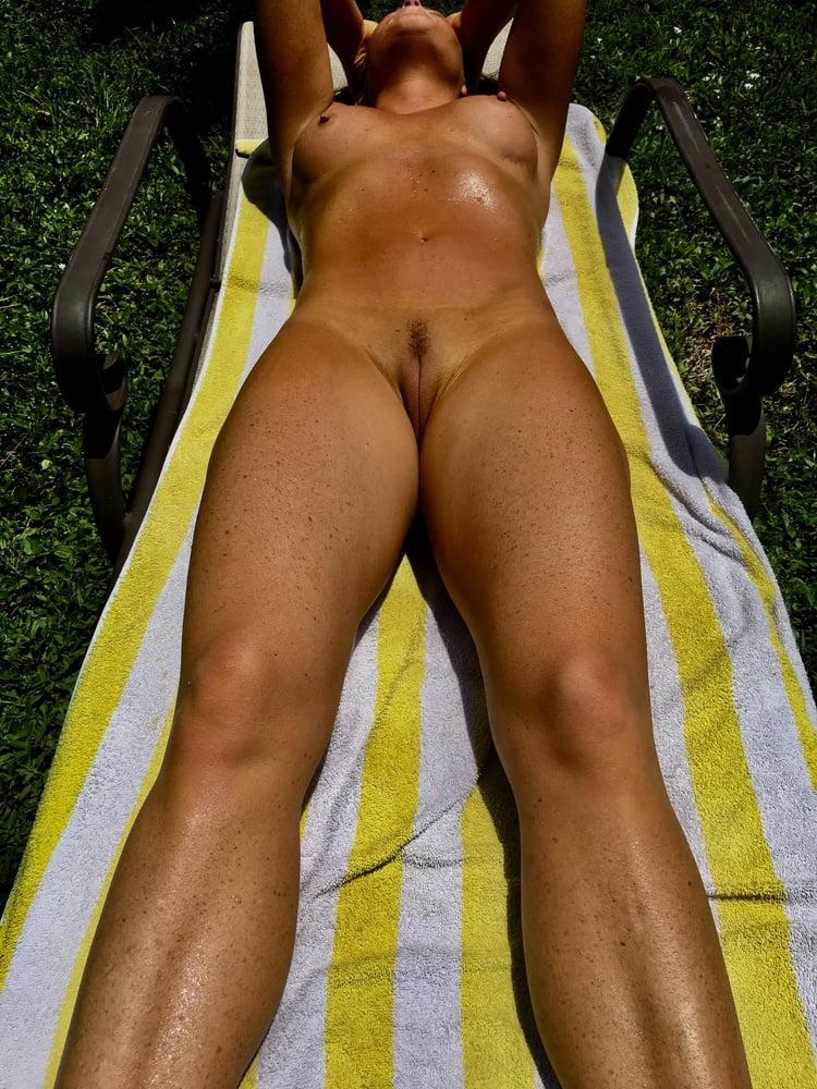 Naked females outside-8704