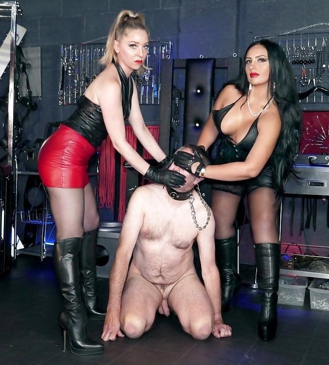 Foot fetish licking girls feet karina and nata cruel couple slave girl needs more humiliation