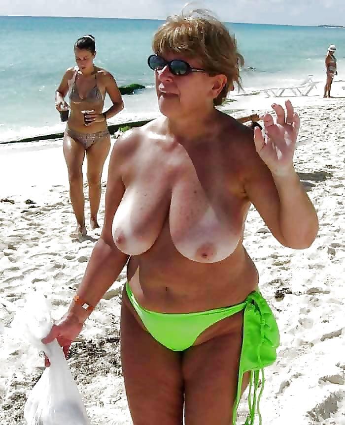 Mature beach porn pics, old women sex pics