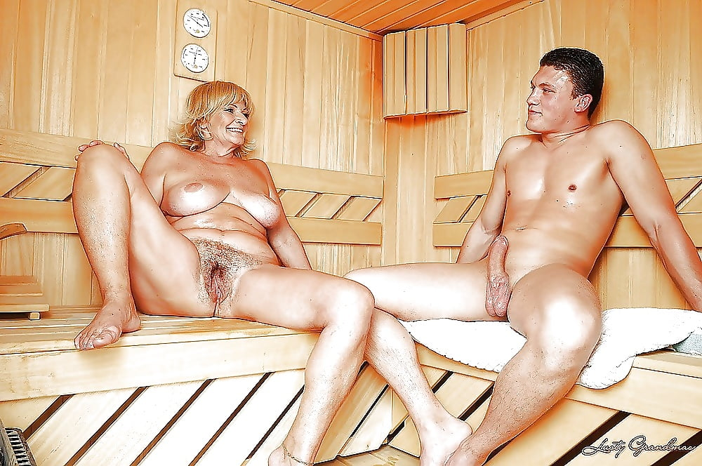 Смотреть русское порно зрелые с молодыми парнями в бане, мнения девушек свингеров
