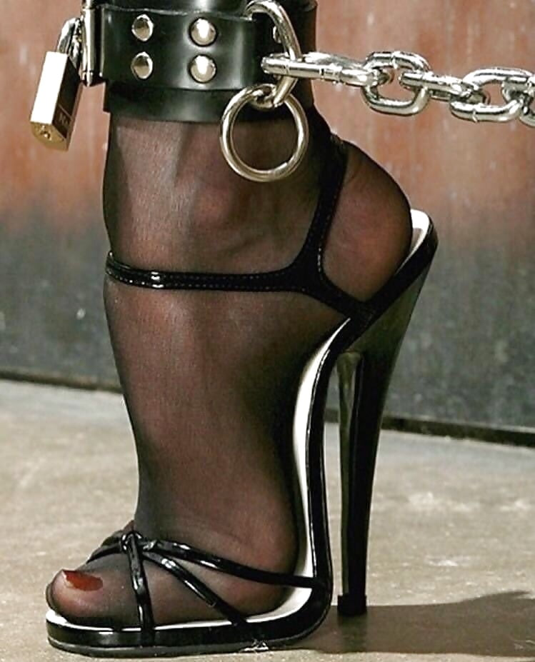 Chained Heels Hardcover Journal By Bdsm
