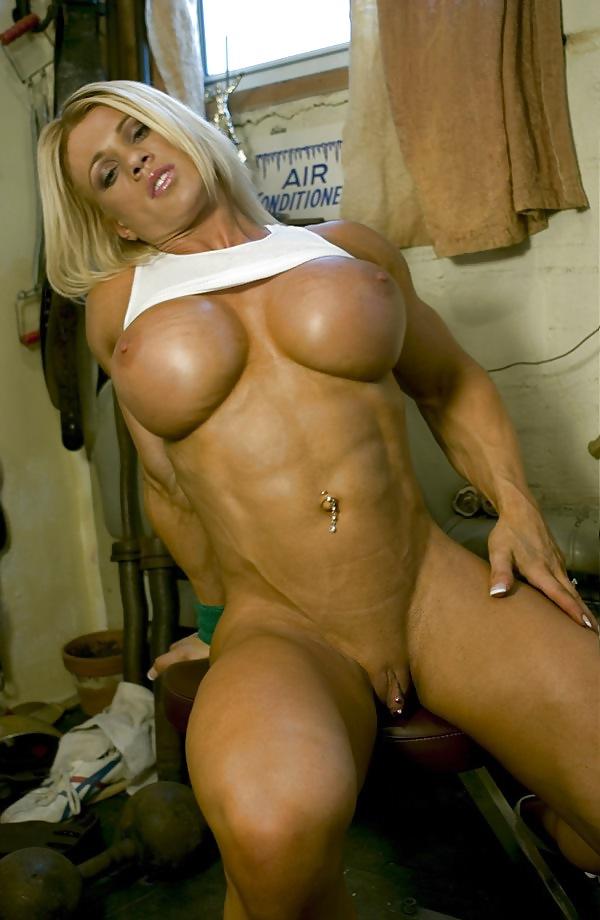 Muscle blonde porno gif