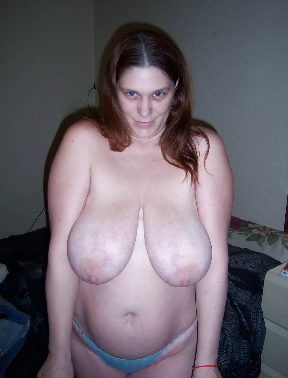 Mature Chubby Saggy Boobs