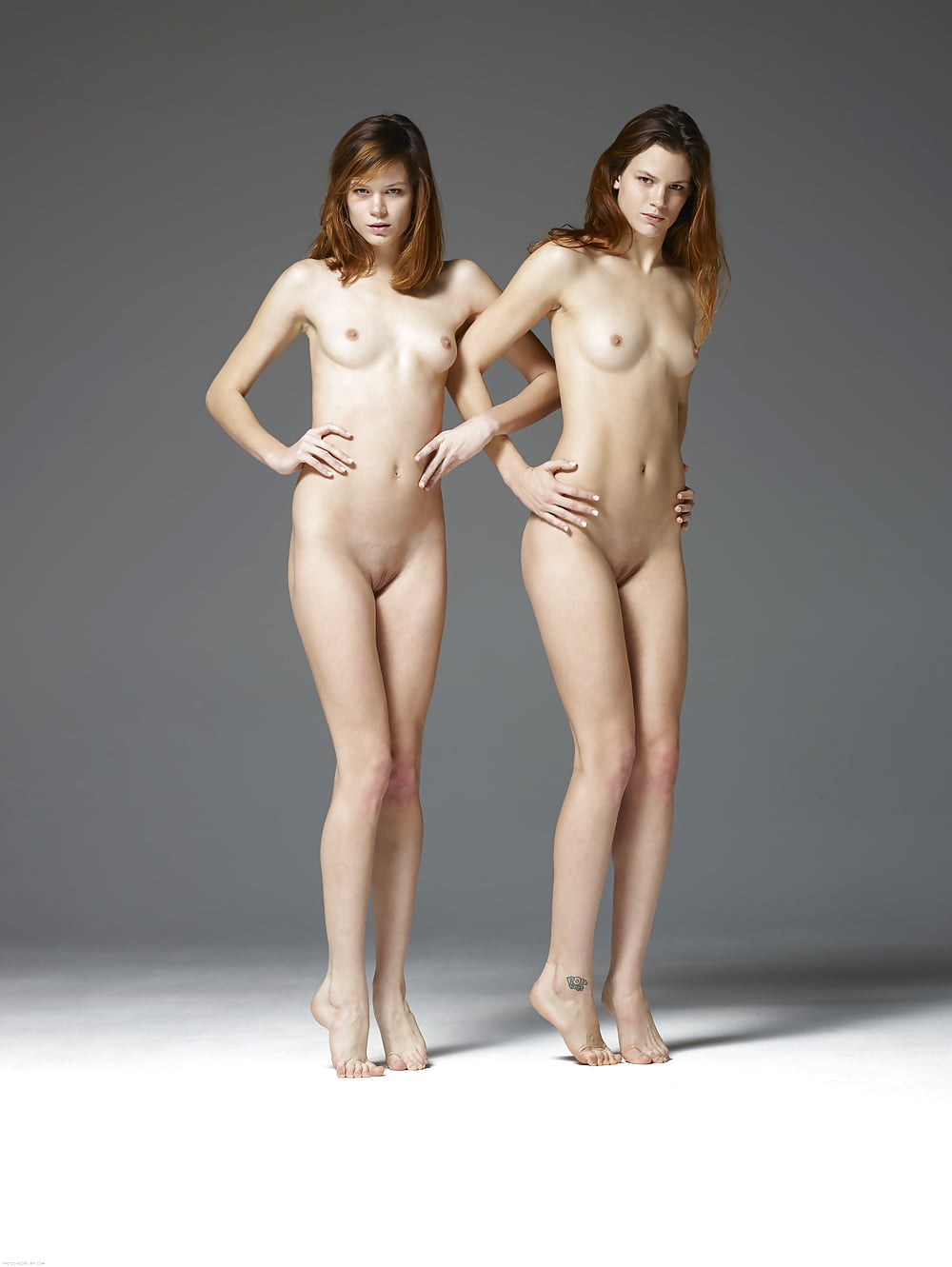 Twins preeti priya get naked looking