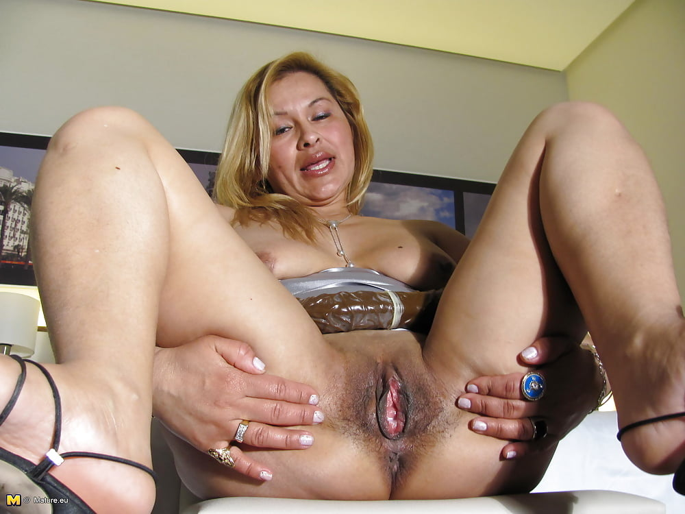 Small tit mature wife