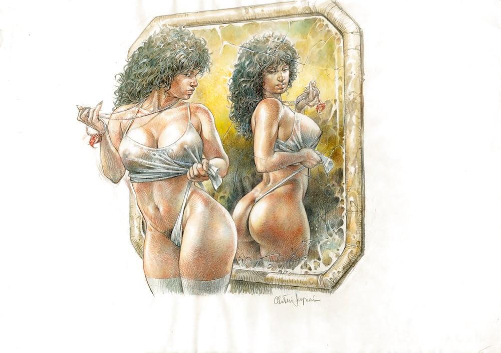 Artist comic erotic