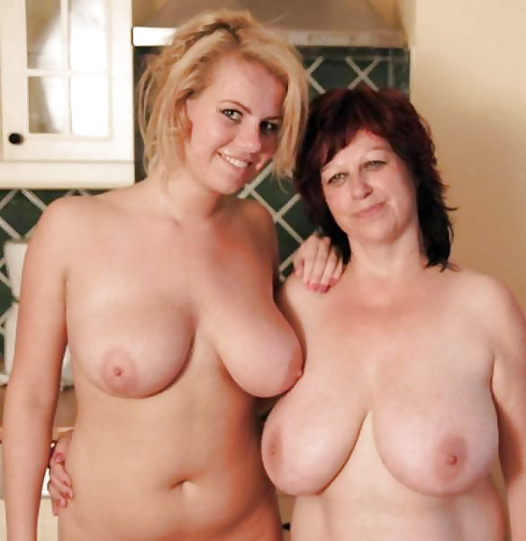Mother daughters tits