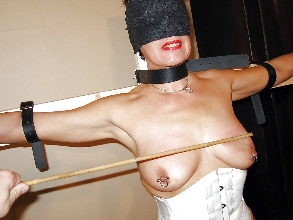 Spiked breast torture vice with nipple puller bdsm store