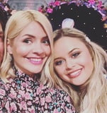 Pregnant Holly Willoughby