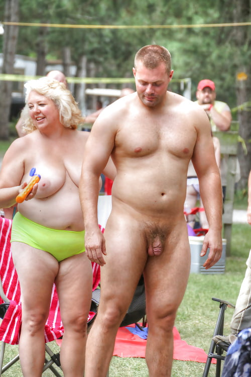 Nude mature bears