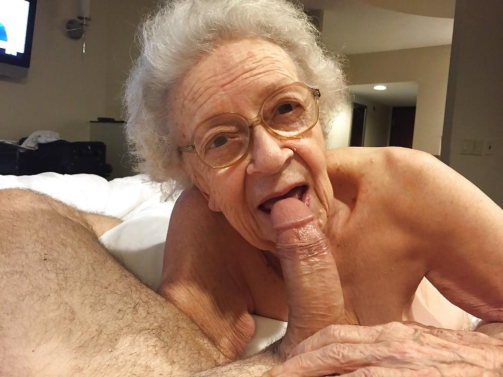 Grandma cock sucking grandpa